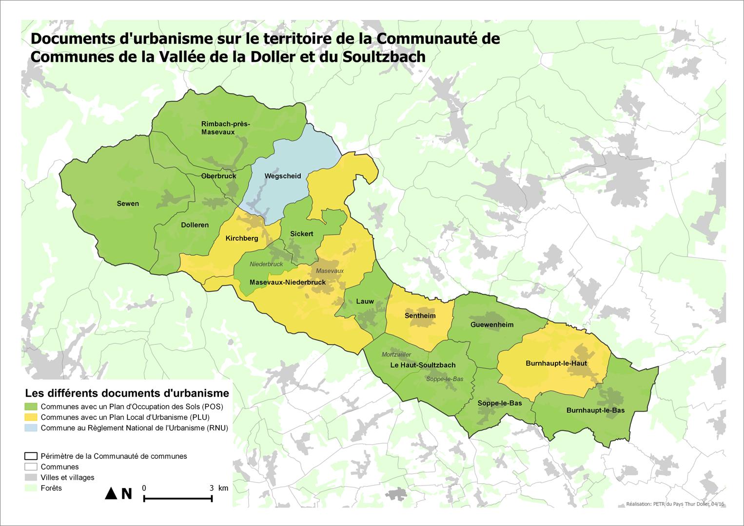 Carte docs urbanisme CCVDS