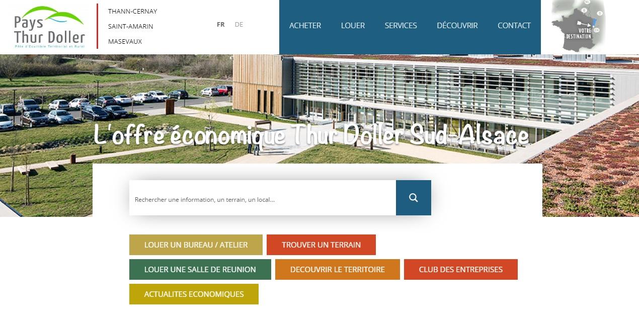 Bannière Site Entreprendre en Alsace