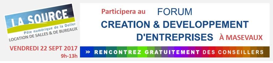 Forum de la Création d'Entreprise - Bandeau mail