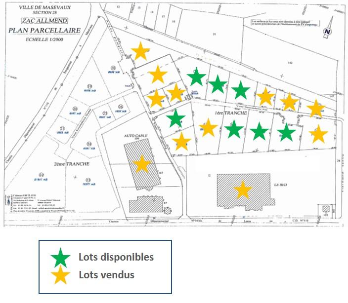 Disponibilités - ZAC Porte de Masevaux